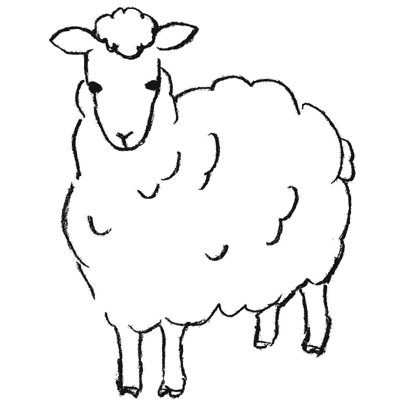 羊のフリーイラスト素材